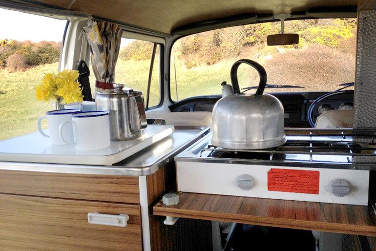 VW Camper hire Scotland - Image 1