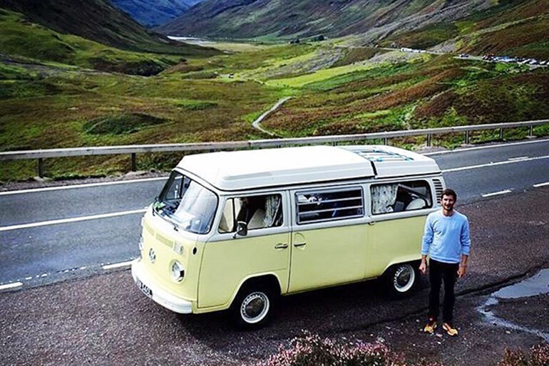 VW Camper hire Scotland - Image 4