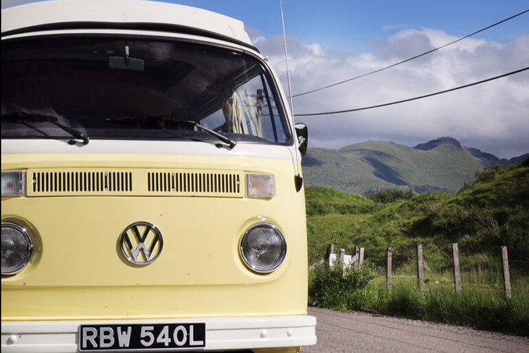 VW Camper hire Scotland - Image 7