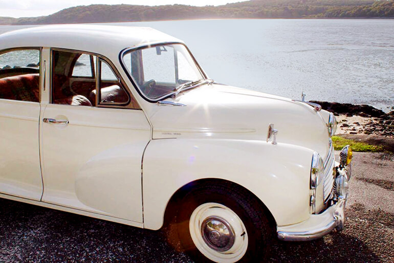 Morris Minor Hire - Kippford Classic Car Hire image