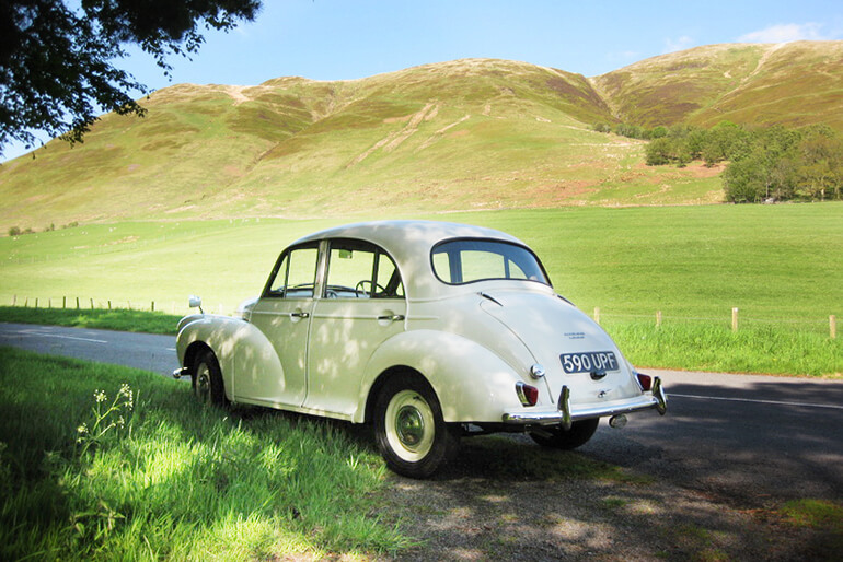 Morris Minor Hire - Kippford Classic Car Hire country image