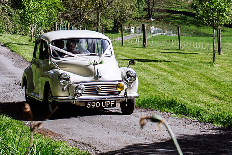 Kippford Classic Car Hire vintage vehicles - Morris Minor