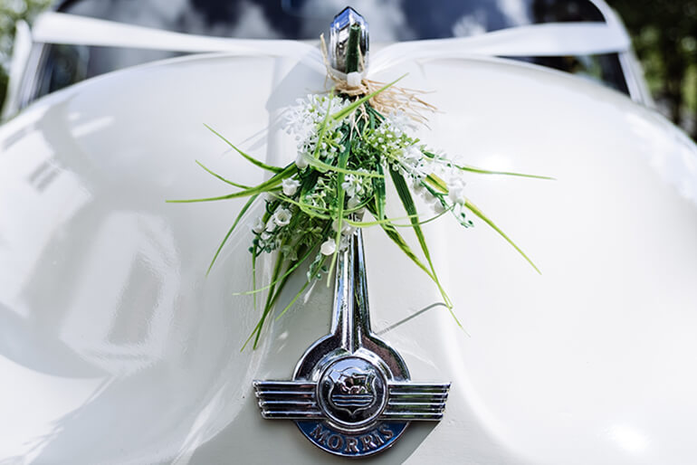 Wedding Car Hire Dumfries - Kippford Classic Car Hire image 4 mobile
