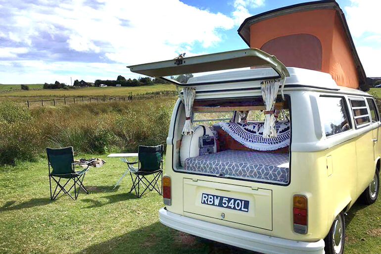 VW Camper hire Scotland - Image 9