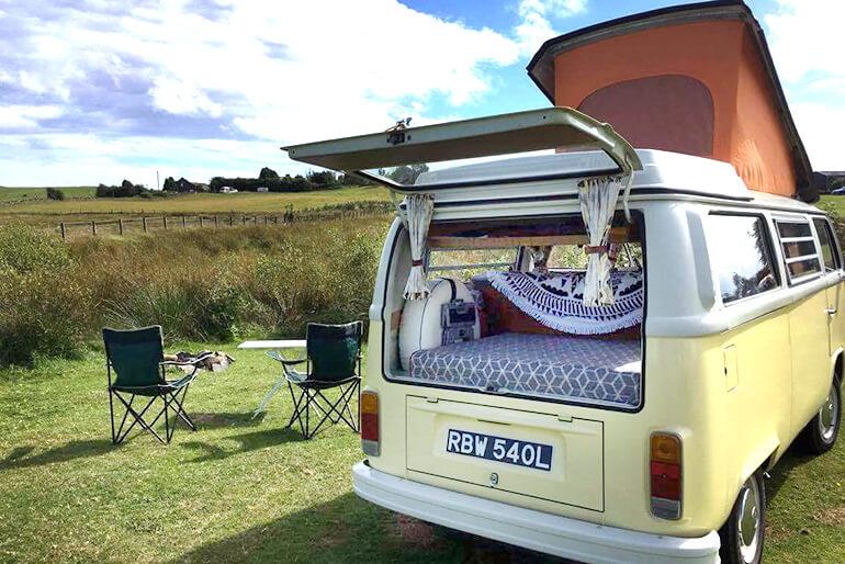 VW Camper hire Scotland - Image 9