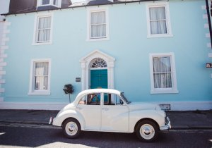 Morris Minor in Kirkcudbrigh, SW Scotland | Kippford Classic Car Hire