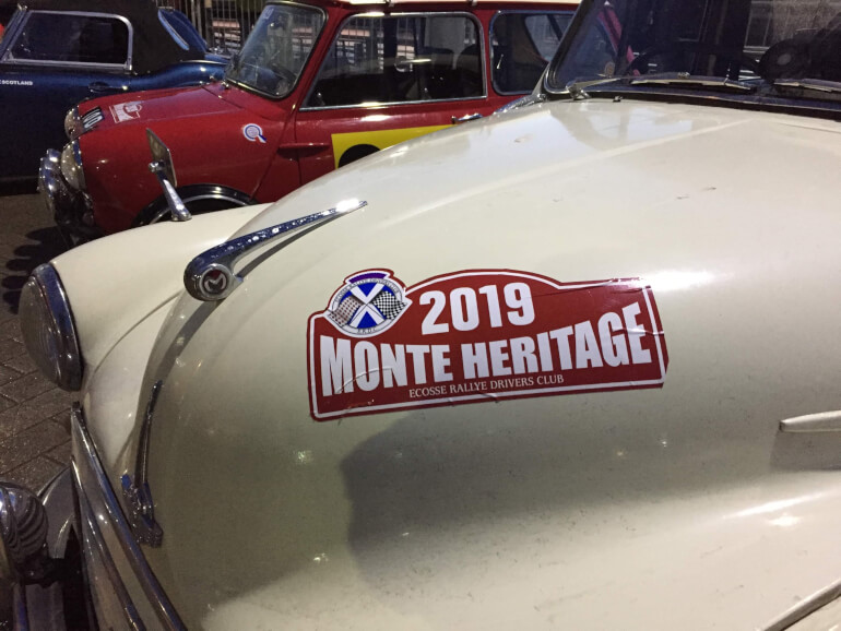 Heritage Monte Carlo Rally