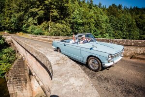 Scottish Road Trip Dumfries and Galloway | Kippford Classic Car Hire